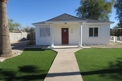 Phoenix Single Family Home For Sale: 1715 N Whittier Drive