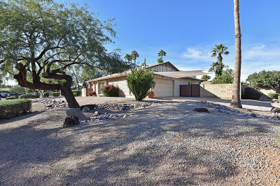Scottsdale Single Family Home For Sale: 12254 N 59th Street
