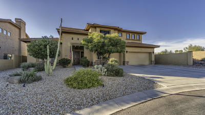Gold Canyon AZ Single Family Home For Sale: $595,000
