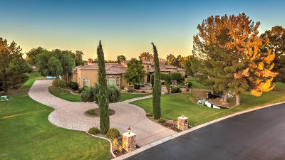 Chandler, Fountain Hills, Gilbert, Mesa, Paradise Valley, Queen Creek, Scottsdale, Gold Canyon, San Tan Valley Single Family Home For Sale: 28 E Oakwood Hills Drive