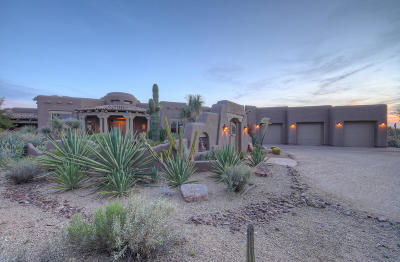 Scottsdale Single Family Home For Sale: 8400 E Dixileta Drive #164