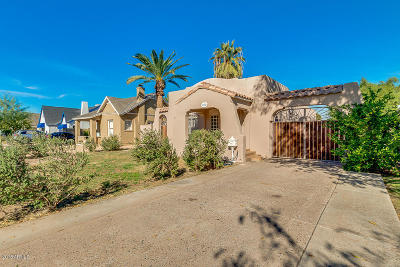 Phoenix Single Family Home For Sale: 1322 W Culver Street