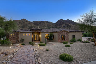 Scottsdale Single Family Home For Sale: 11923 E Casitas Del Rio Drive