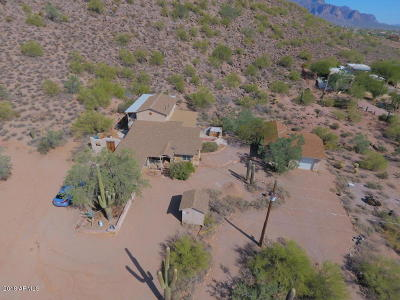 Apache Junction Single Family Home For Sale: 5351 N Monterey Drive