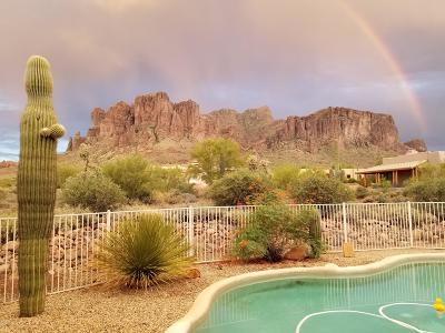 Apache Junction Single Family Home For Sale: 3967 N Sunset Road
