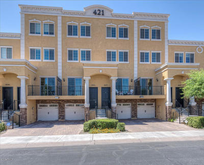 Tempe Condo/Townhouse For Sale: 421 W 6th Street #1007