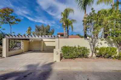 Scottsdale Single Family Home For Sale: 7252 E Maverick Road