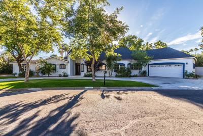 Phoenix Single Family Home For Sale: 3331 N Rose Circle Drive