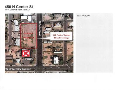 Mesa Residential Lots & Land For Sale: 450 N Center Street