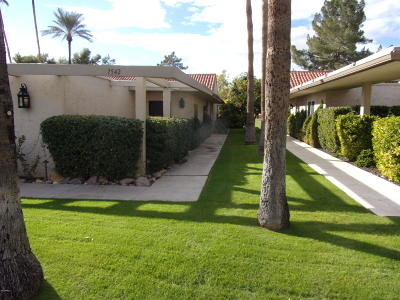 Scottsdale Condo/Townhouse For Sale: 7542 N Sacaton Road
