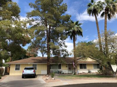 Single Family Home For Sale: 6242 E Monterey Way