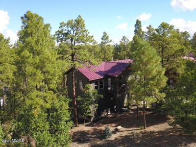 Show Low Single Family Home For Sale: 1020 E Cedar Ridge Run