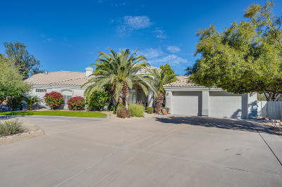 Scottsdale Single Family Home For Sale: 11373 N 117th Street