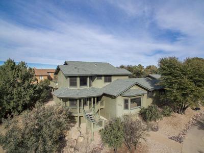 Prescott AZ Single Family Home For Sale: $550,000