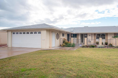 Sun City Gemini/Twin Home For Sale: 10841 W Mountain View Road