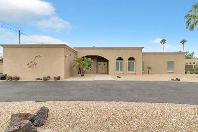Single Family Home For Sale: 8735 E Joshua Tree Lane