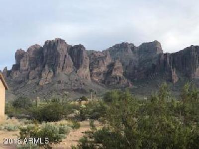 Apache Junction Residential Lots & Land For Sale: 3883 N Sun Road