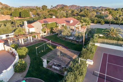 Paradise Valley Single Family Home For Sale: 5115 N Wilkinson Road
