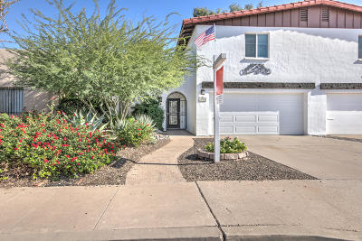 Tempe Condo/Townhouse For Sale: 2919 S Country Club Way