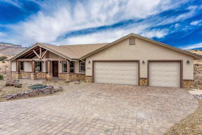 Prescott AZ Single Family Home For Sale: $585,000