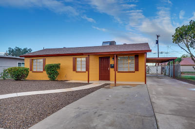 Phoenix Single Family Home For Sale: 1650 N 38th Lane