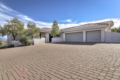 Fountain Hills Single Family Home For Sale: 16141 E Thistle Drive