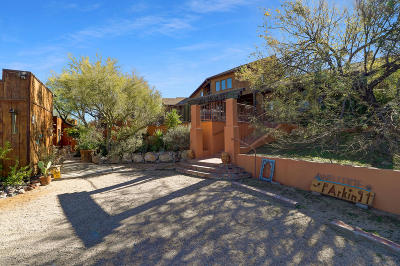 Cave Creek Single Family Home For Sale: 38555 N School House Road