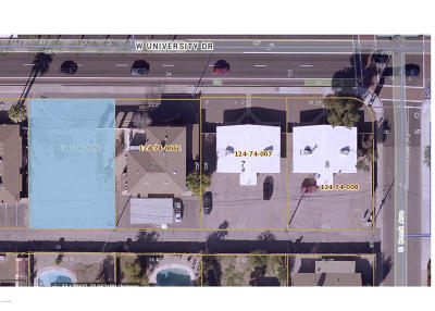Tempe Residential Lots & Land For Sale: 1211 W University Drive