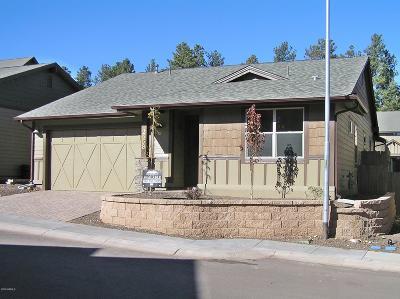 Flagstaff Single Family Home For Sale: 2558 W Pollo Circle #255