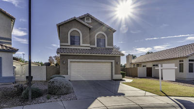 Gilbert Single Family Home For Sale: 251 W Amoroso Drive