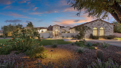 Chandler, Fountain Hills, Gilbert, Mesa, Paradise Valley, Queen Creek, Scottsdale, Gold Canyon, San Tan Valley Single Family Home For Sale: 7807 N Calle Caballeros Street