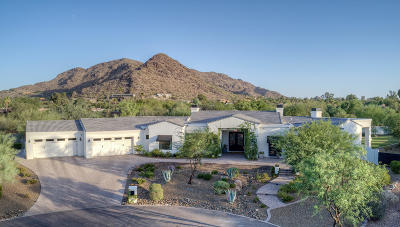 Paradise Valley Single Family Home For Sale: 8600 N Avenida Del Sol