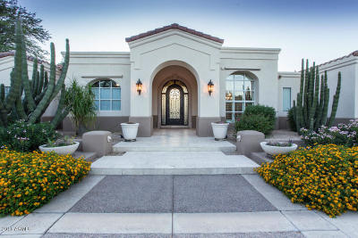 Paradise Valley Single Family Home For Sale: 7500 N Mockingbird Lane