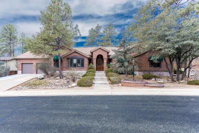 Prescott AZ Single Family Home For Sale: $549,900