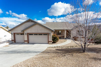 Prescott Single Family Home For Sale: 1517 Eagle Mountain Drive