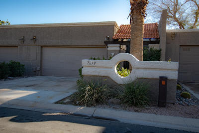 Scottsdale Condo/Townhouse For Sale: 7679 E Pleasant Run