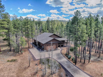 Show Low Single Family Home For Sale: 1760 W Snow Creek Loop