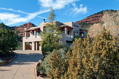 Sedona Single Family Home For Sale: 1321 S Palisades Drive