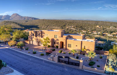 Fountain Hills Single Family Home For Sale: 14832 E Cerro Alto Drive