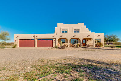 Casa Grande Single Family Home For Sale: 8358 N Bel Air Road