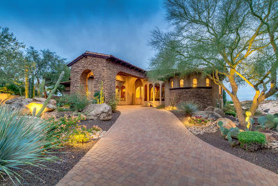 Scottsdale Single Family Home For Sale: 11861 E Desert Trail Road