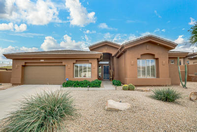 Fountain Hills Single Family Home For Sale: 15501 E Jojoba Lane