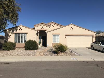 Casa Grande Single Family Home For Sale: 566 W Rattlesnake Place