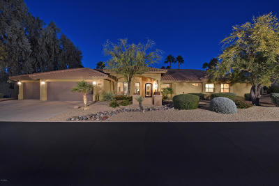 Pinnacle Peak Single Family Home For Sale: 8634 E Clubhouse Way