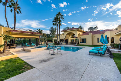 Paradise Valley Single Family Home For Sale: 5636 E Via Buena Vista