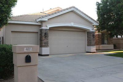 Tempe Single Family Home For Sale: 403 W Knight Lane