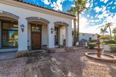 Paradise Valley Single Family Home For Sale: 6601 E Fanfol Drive