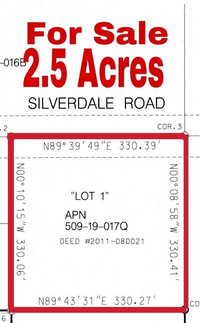 Queen Creek Residential Lots & Land For Sale: W Silverdale Road