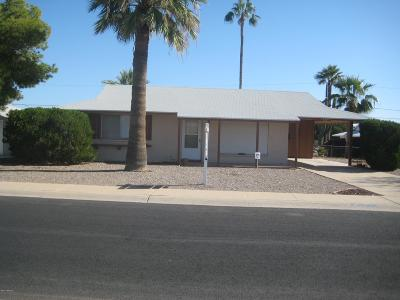 Sun City Rental For Rent: 10825 N 111th Avenue