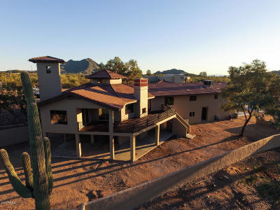 Cave Creek Single Family Home For Sale: 5916 E Highland Road